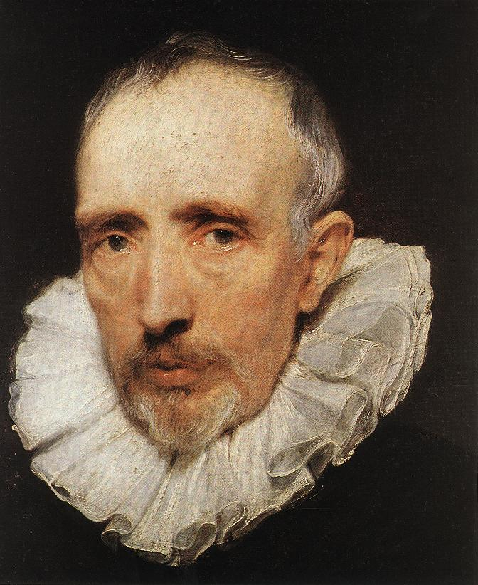 Portrait of Cornelis van der Geest (National Gallery of London) by Flemish master Anthony VanDyck