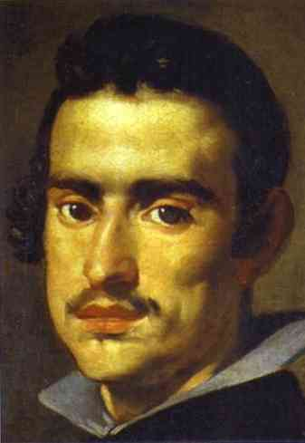 Self-portrait as a young man by Diego Velazquez